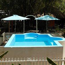 Hotel Rio Bec Dreams dipping pool