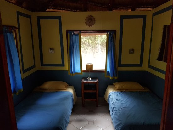 Becan Twin Beds Rio Bec Dreams Hotel in Calakmul