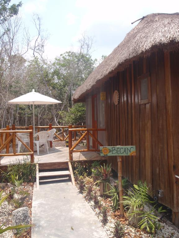 Cabana Becan Terrace Rio Bec Dreams Hotel in Calakmul
