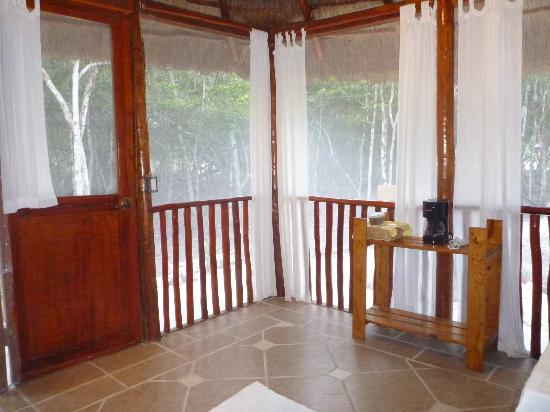 Cabana Screened Porch Rio Bec Dreams Hotel in Calakmul