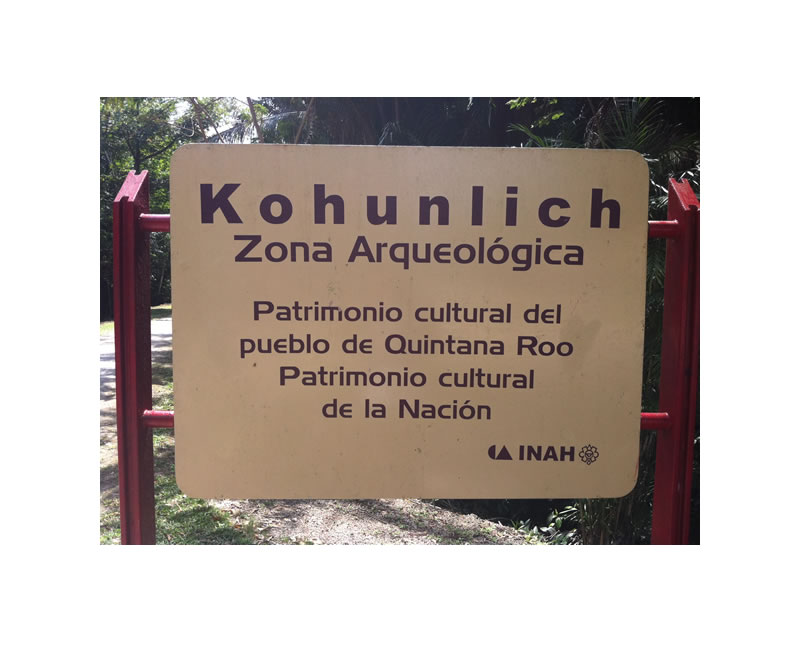 Kohunlich Sign Small