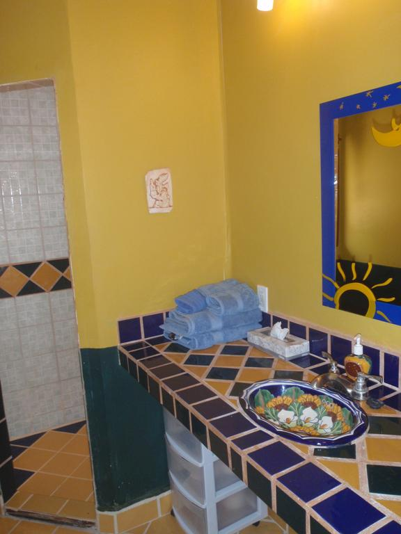 Sol Bathroom Rio Bec Dreams Hotel in Calakmul