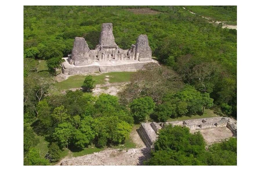 Xpujil Temple 1