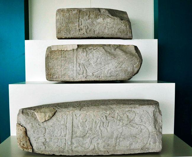 Dzibanche Hieroglyphic Stairway