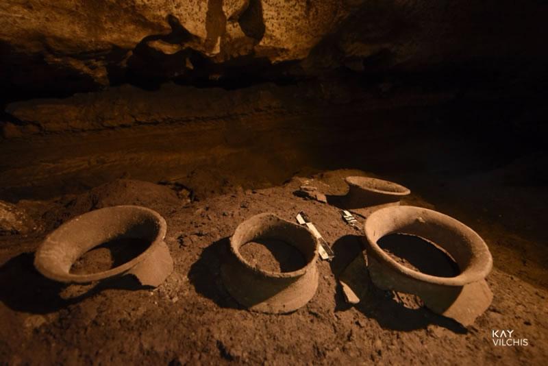 Ceramics In Caces Beneath Calakmul